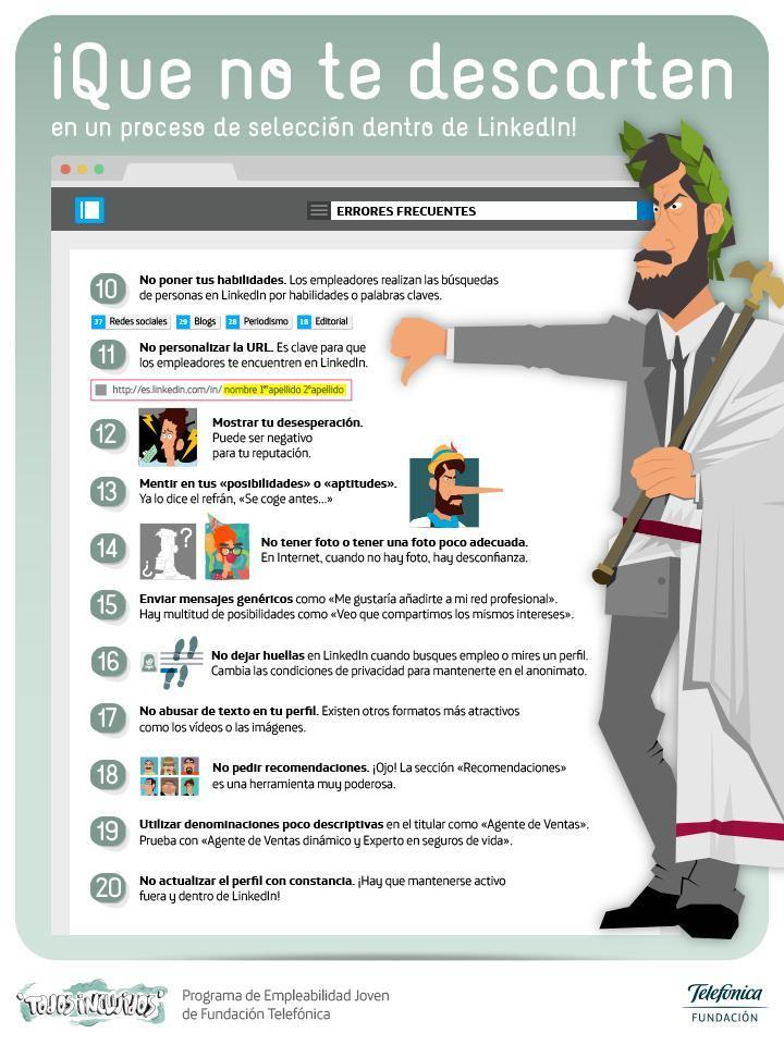 que-no-te-descarten-linkedin-infografia