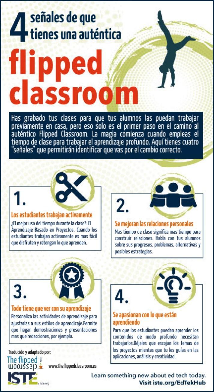 4 señales de que tienes una auténtica Flipped Classroom