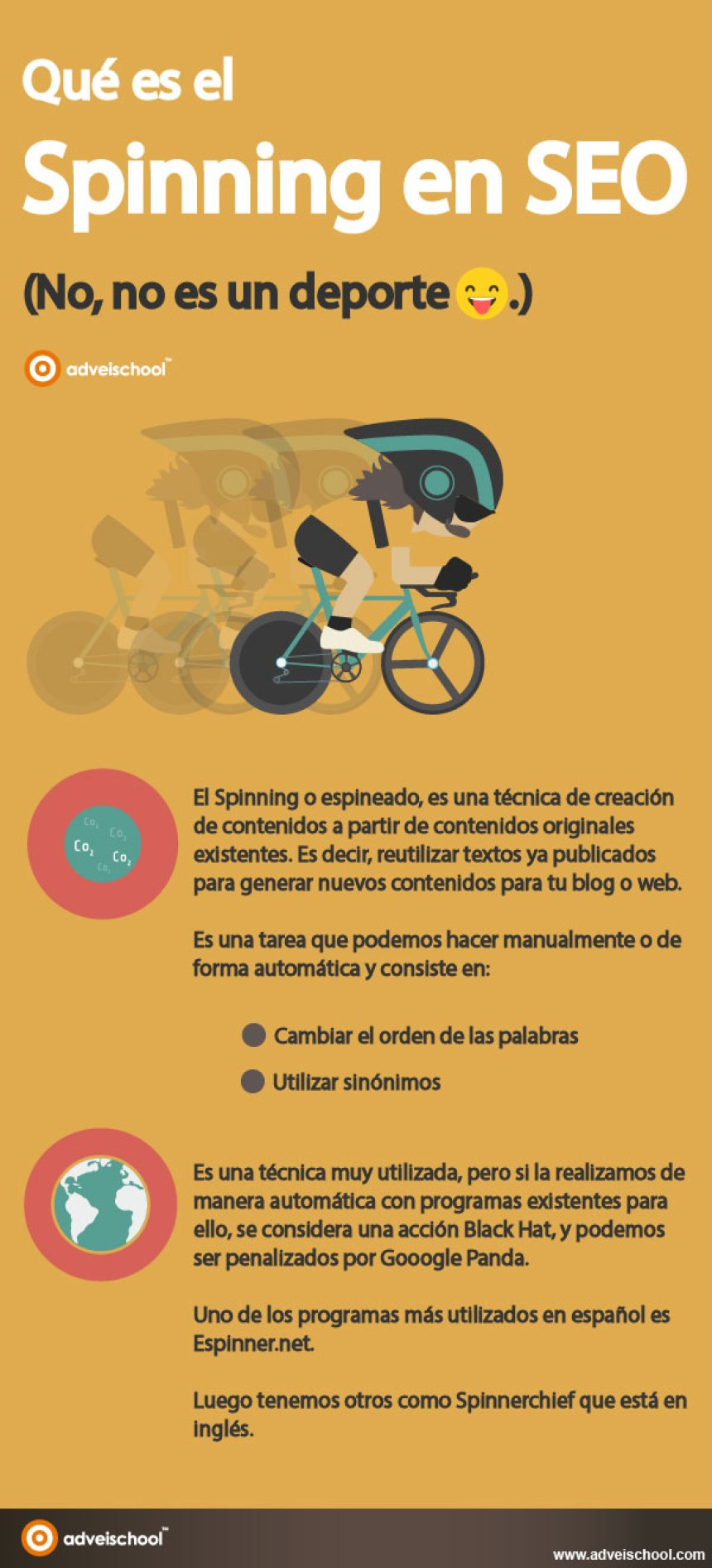Qué es el Spinning en SEO