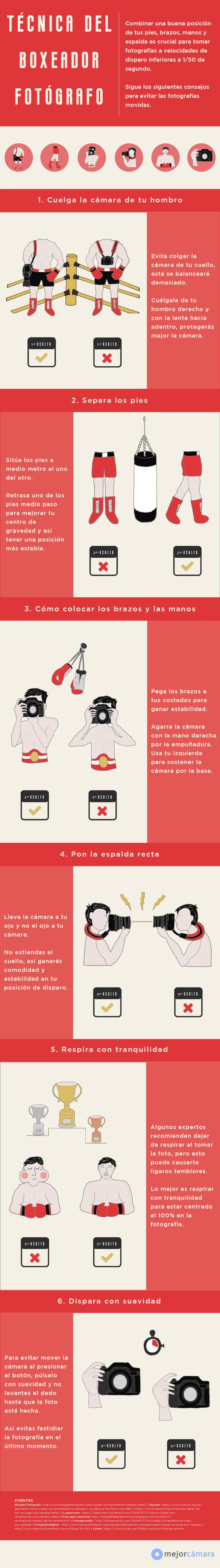 ¿Sabes sujetar una cámara? Saca fotos más nítidas con estos consejos