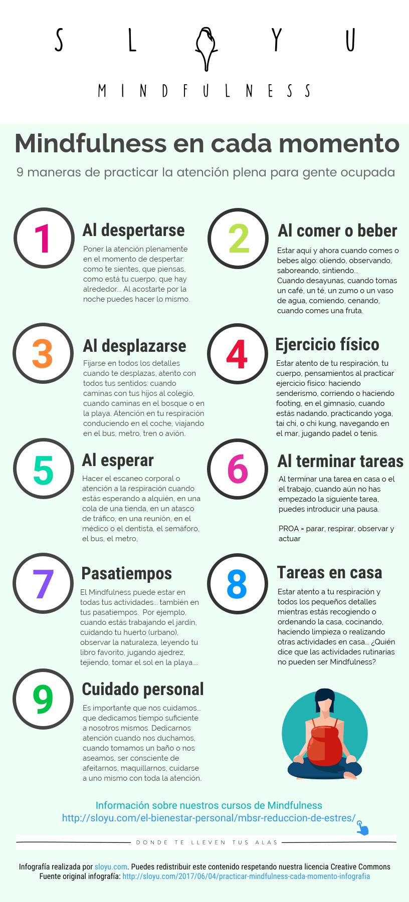 Mindfulness: 9 maneras de practicar la atención plena en tu vida cotidiana