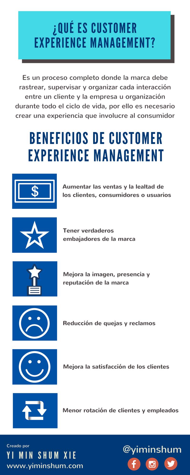 Qué es Customer Experience Management