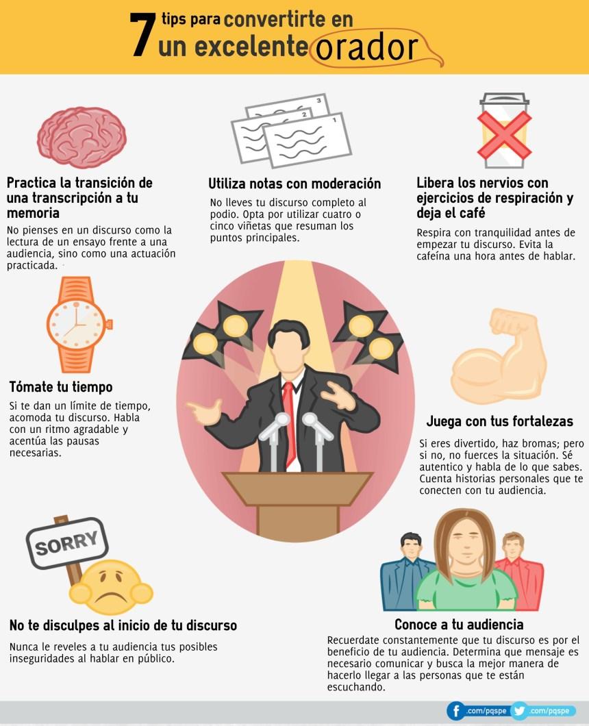 7 consejos para convertirte en un excelente orador