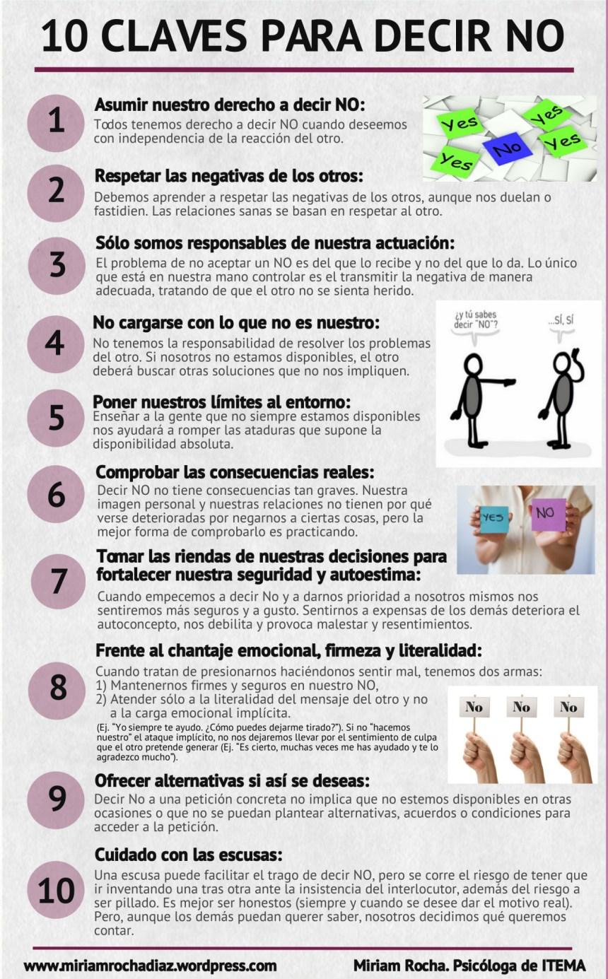 10 claves para decir NO