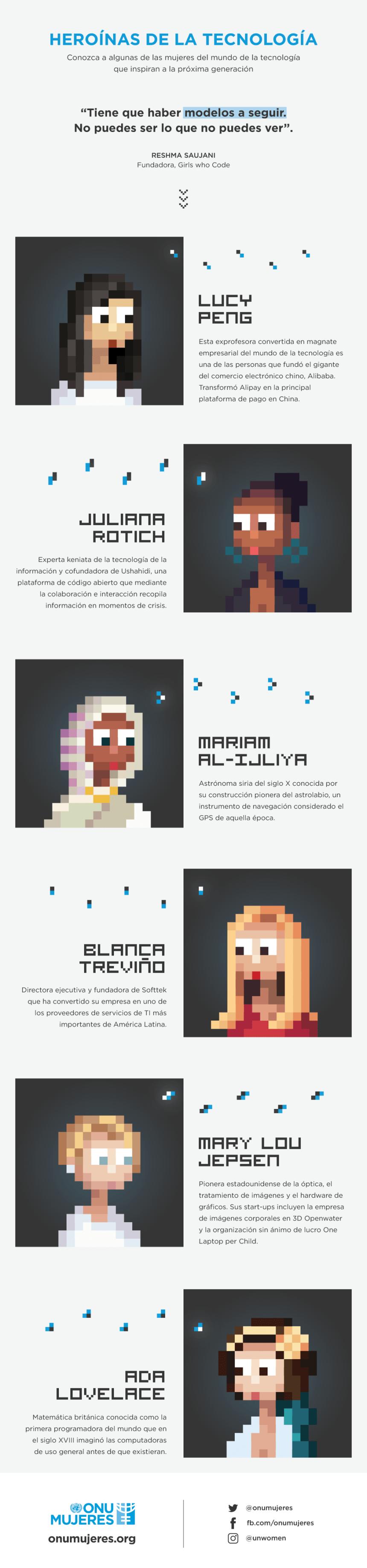 Heroínas de la Tecnología