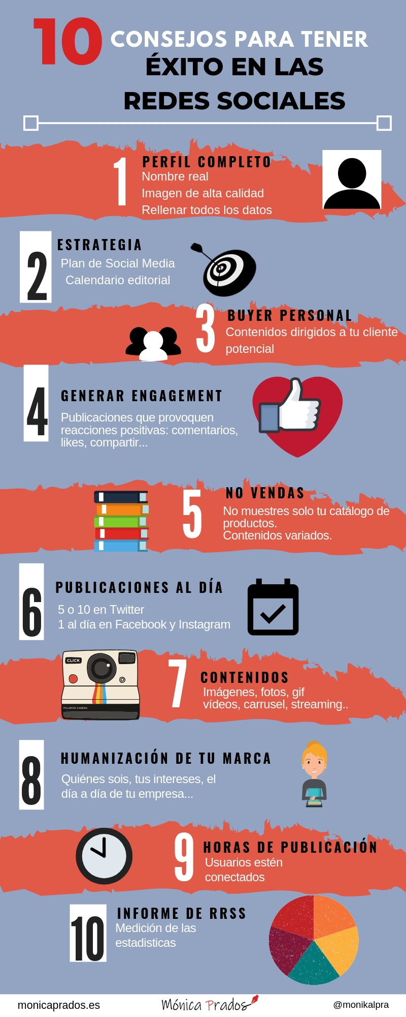 10 consejos para tener éxito en Redes Sociales