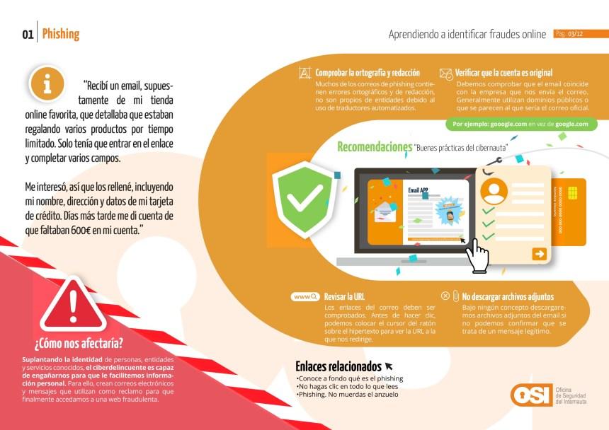 Fraudes on line: Phishing