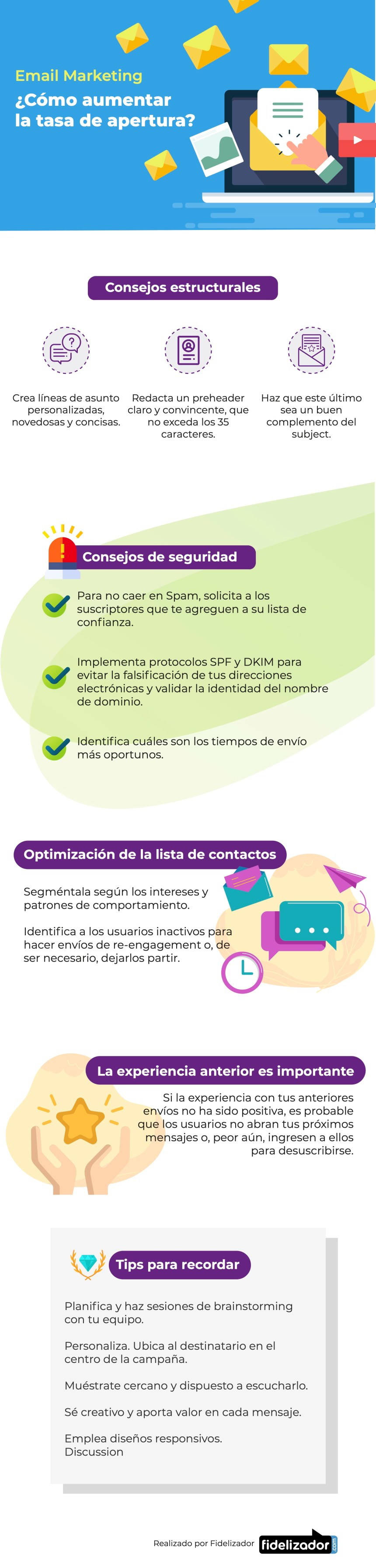Cómo aumentar la tasa de apertura en Email Marketing