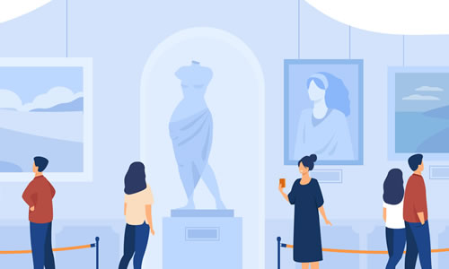 大学博物館のイメージとナレッジステーションブログ