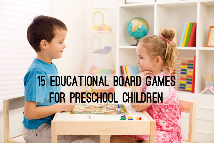 15 Educational Board Games for Preschool Children - www.tictacteach.com