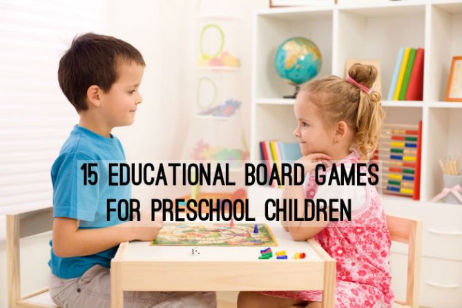 15 Educational Board Games for Preschool Children
