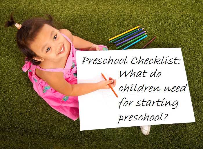 Preschool Checklist - TicTacTeach