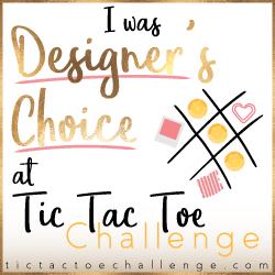 Tic Tac Toe // Designer's Choice