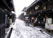 QGU_高山の古い町並み・冬(イメージ)
