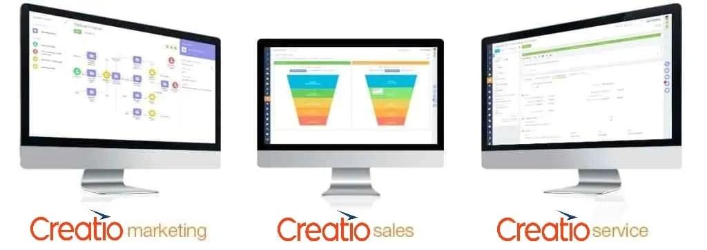creatio marketing, ventas y servicio al cliente