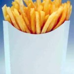 comer papas fritas