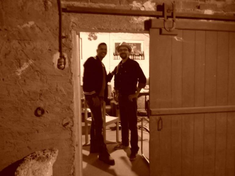Chez Denis, studio de répétition à chaque passage en Bourgogne