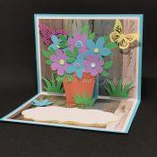 Pop-Up Flower Pot Mother's Day Card