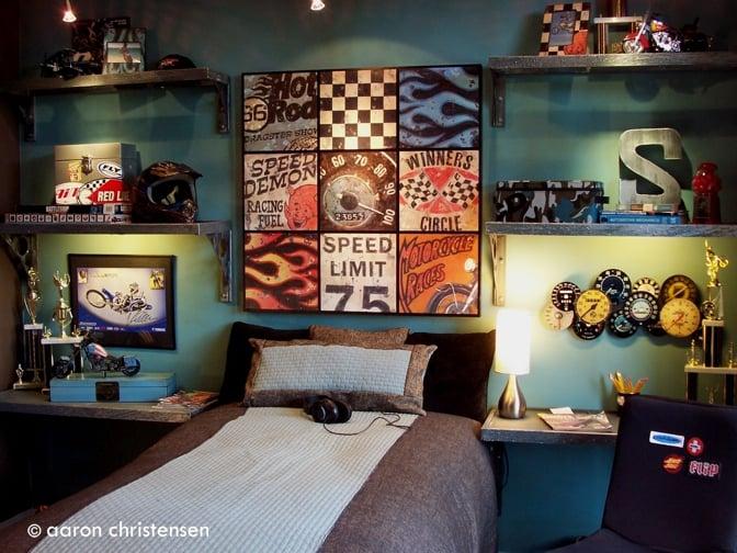 15+ Amazing Tween/Teen Boy Bedrooms - TIDBITS&TWINE on Teenage Girl:pbu1881B-Jc= Cool Bedroom Ideas  id=49111