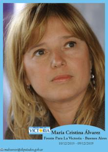 María Cristina Álvarez