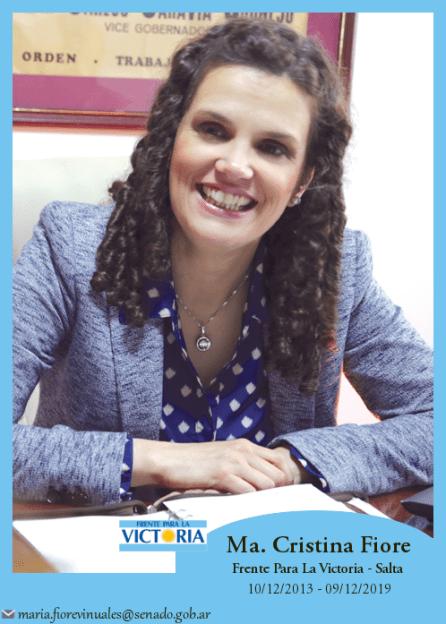 María Cristina Fiore Viñuales