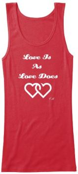 Love is W Tank Teespring