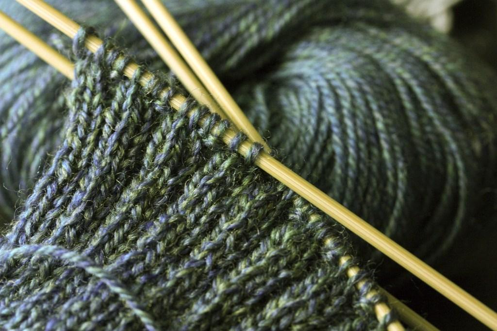 yarn knit needles self care tips  photo