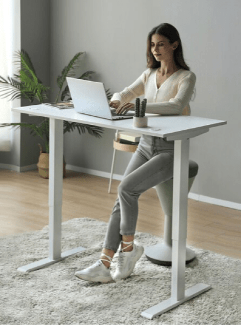 home office desk from Wayfair photo