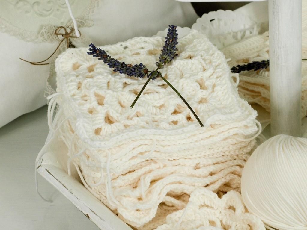crochet granny squares photo