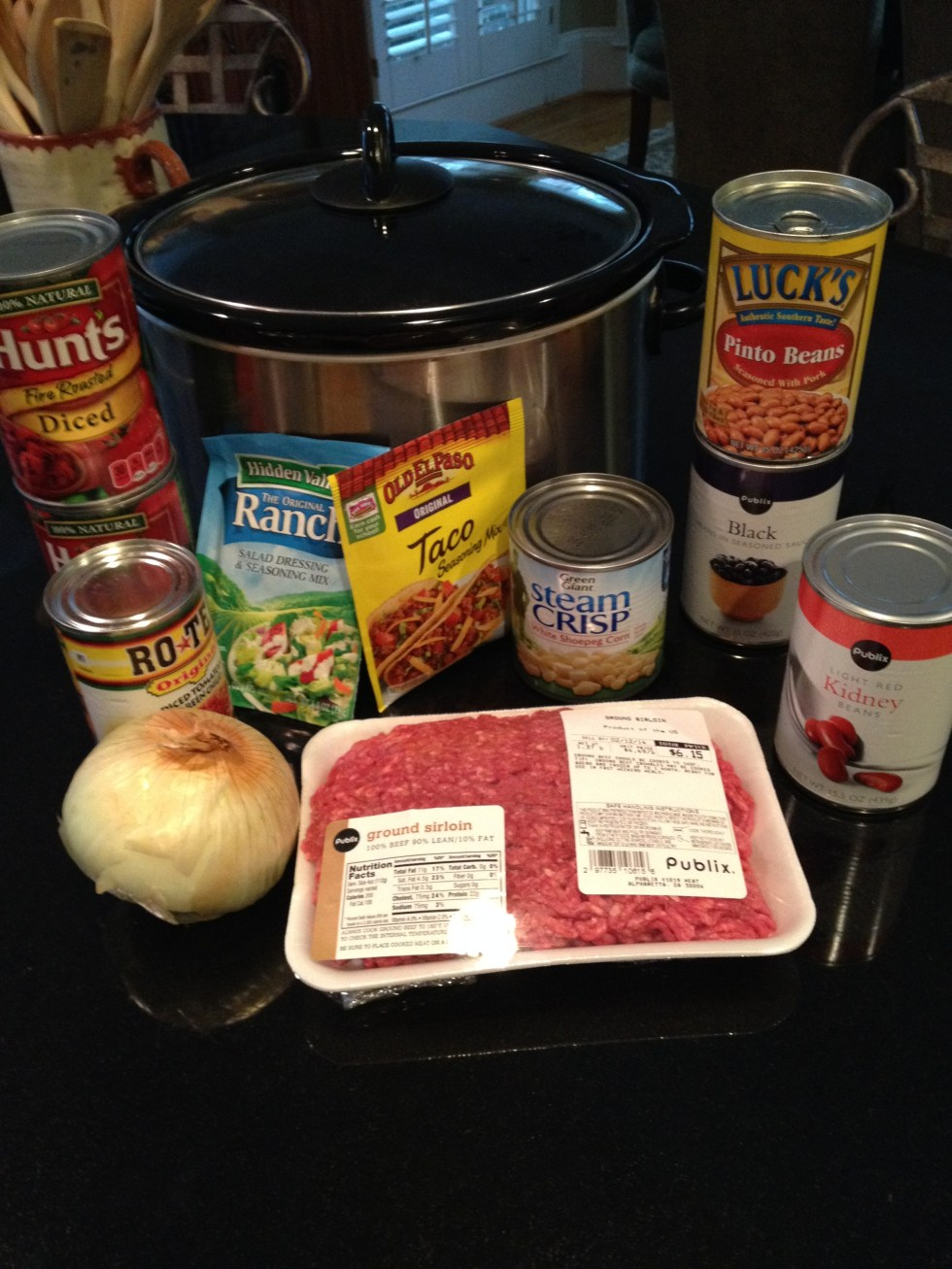 Items for Taco Soup