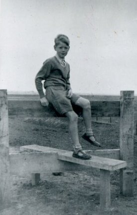 Charles Relle as a boy.