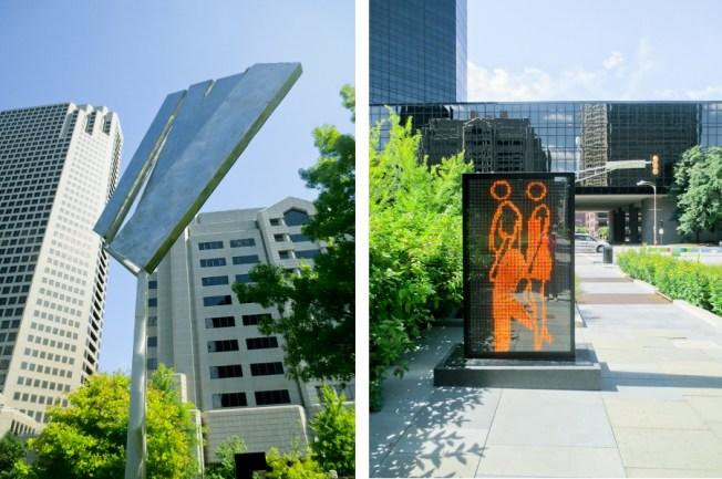 Citygarden, St. Louis Sculpture Park | tide & bloom