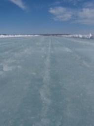 Ice Road Sunny