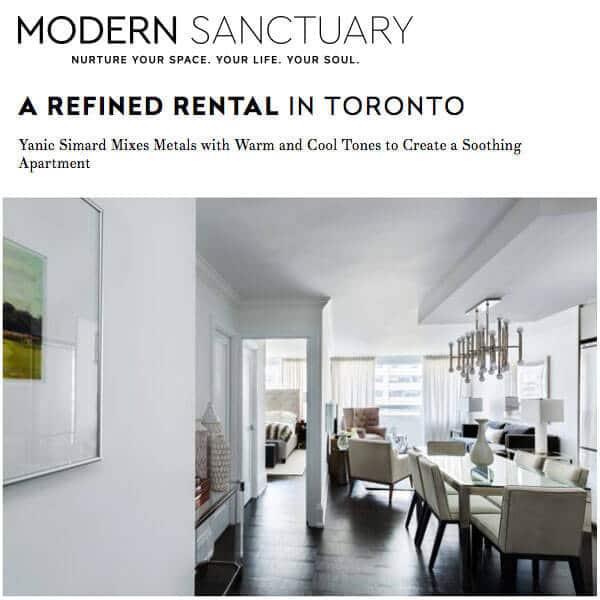 Modern Sanctuary Article - Yanic Simard