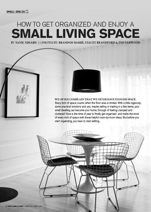 Small Living Space - New Condo Guide - TIDG - Yanic Simard