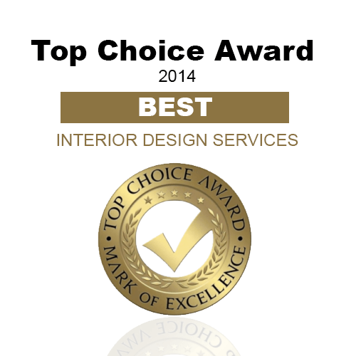 Best Interior Design Services, Top Choice Award (2014)