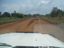 Flying on the dirt highway