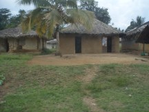 Beautiful huts