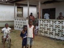 Children playing, Arthington Liberia