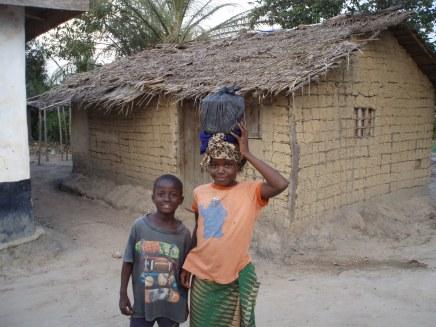 Siblings making their way through life, Zwedru, Liberia