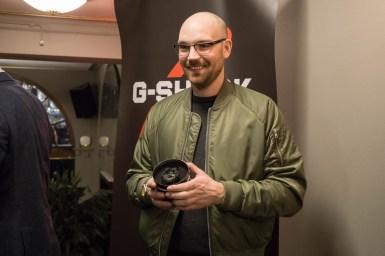 En heldig vinner stakk av en helrå G-Shock 35 Anniversary-modell.