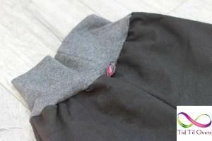 Bukse med lapp i linningen