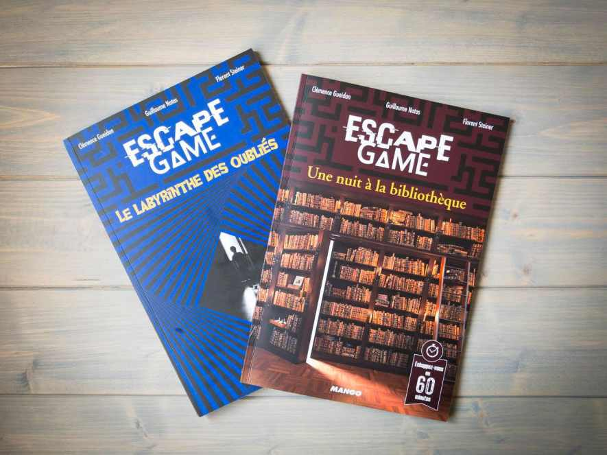 Livre escape game Mango