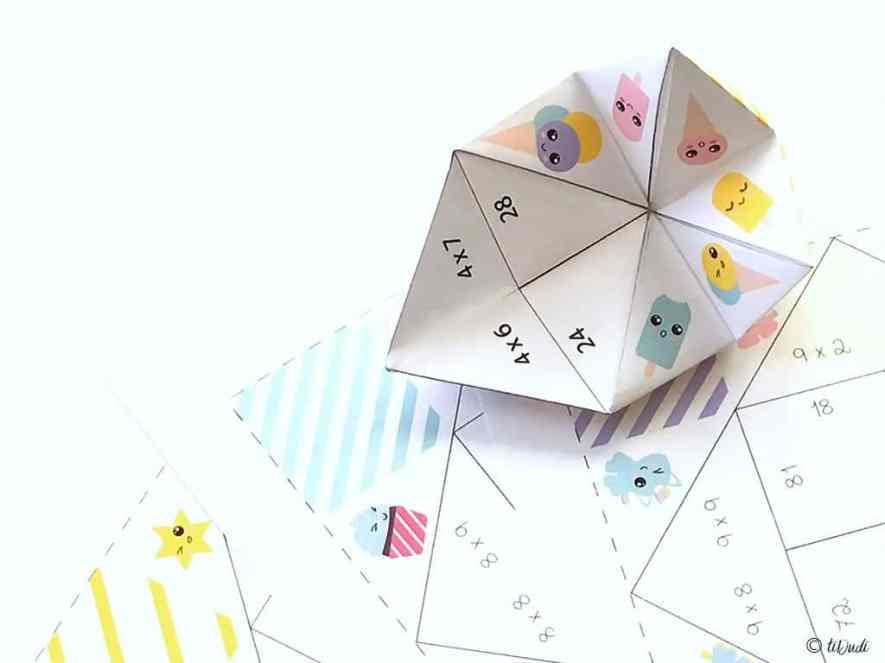 cocotte jeu pour apprendre facilement une table de multiplication tiDudi