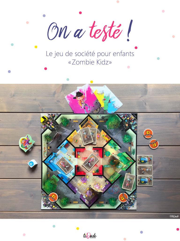 Test et avis Zombie Kidz Evolution, un jeu de société coopératif et évolutif pour les enfants à partir de 7 ans