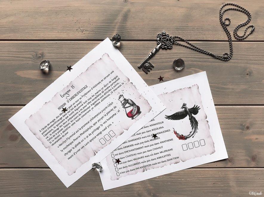 Calendrier de l'Avent Escape Game pour Ados L'Ordre des Gardiens Vallastis par tiDudi