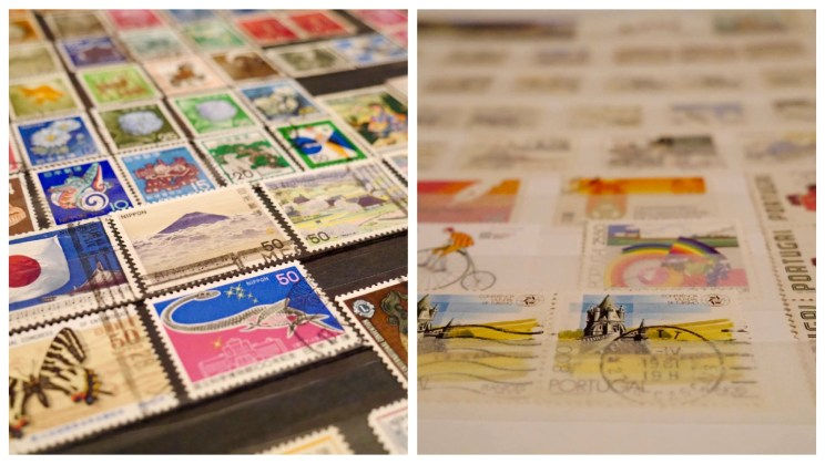 Stamps collection, not a hoarder