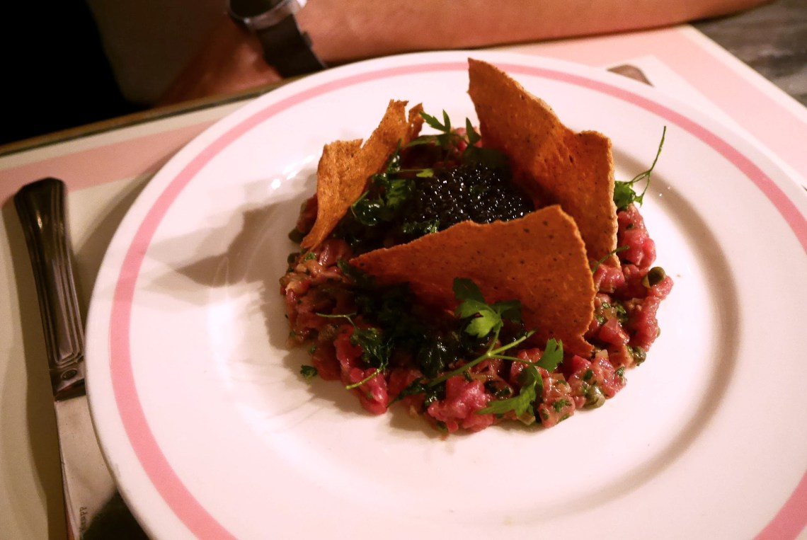 Steak Tartare with Caviar