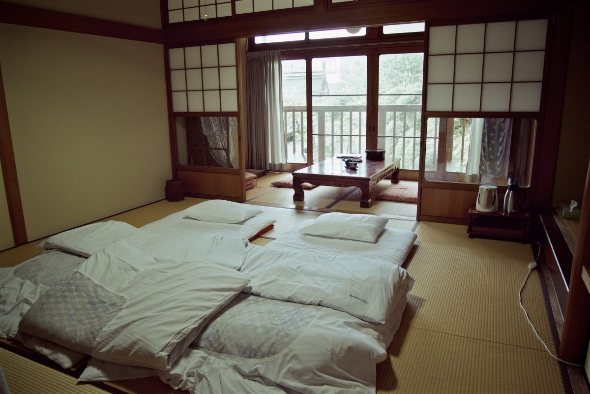 Japanese traditional room layout