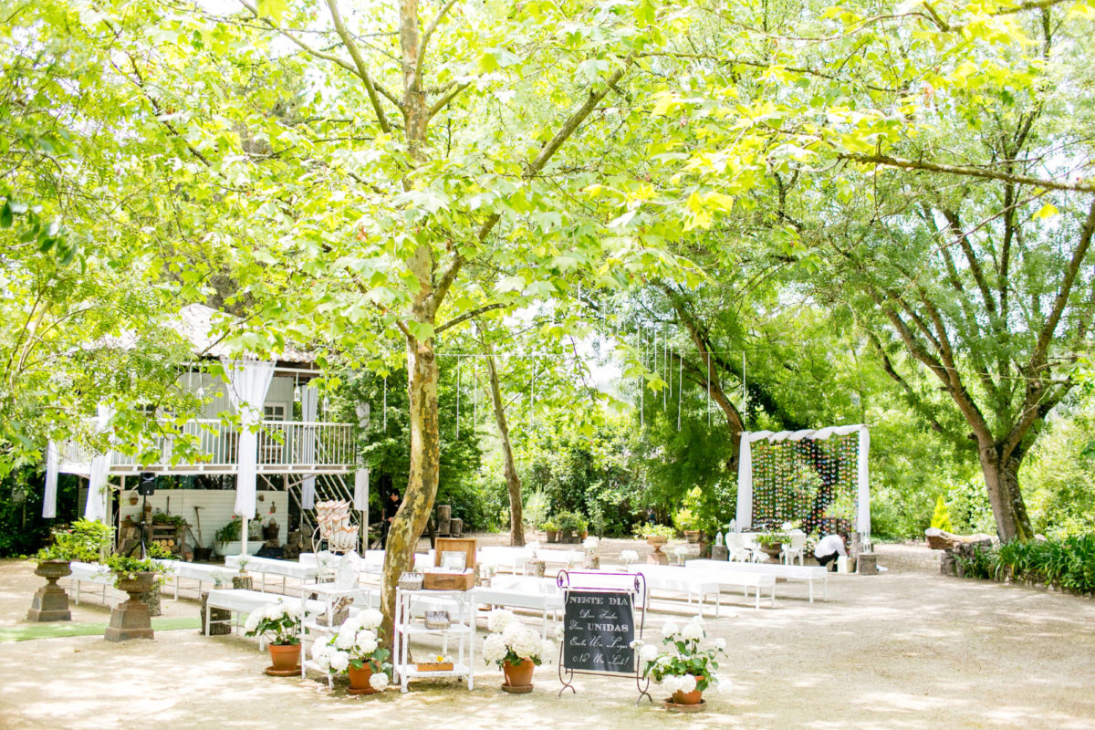 Ceremony outdoor decor